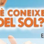 """Campanya """"Sol i salut"""": què saps sobre protecció solar?"""