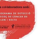 Les farmàcies tornen a participar al programa de detecció precoç de càncer de còlon