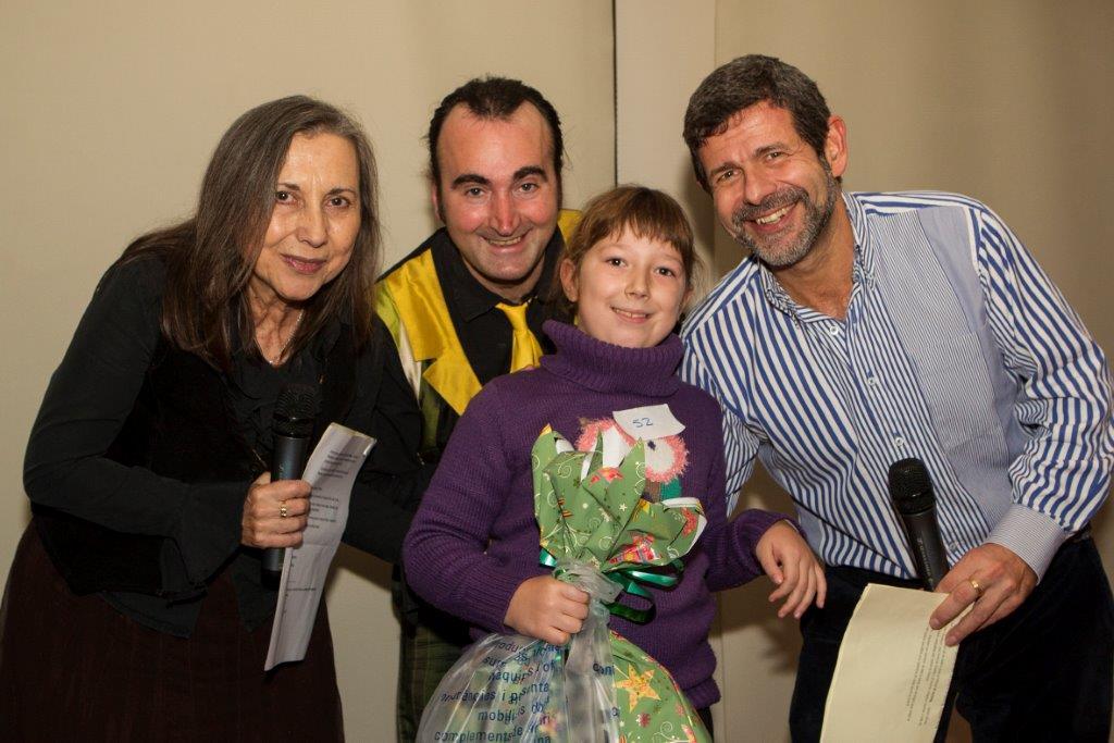 Carla Roca, premi concurs infantil de dibuix, 7 anys