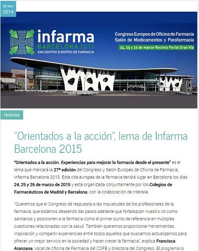 Farmaventas, Infarma 2015