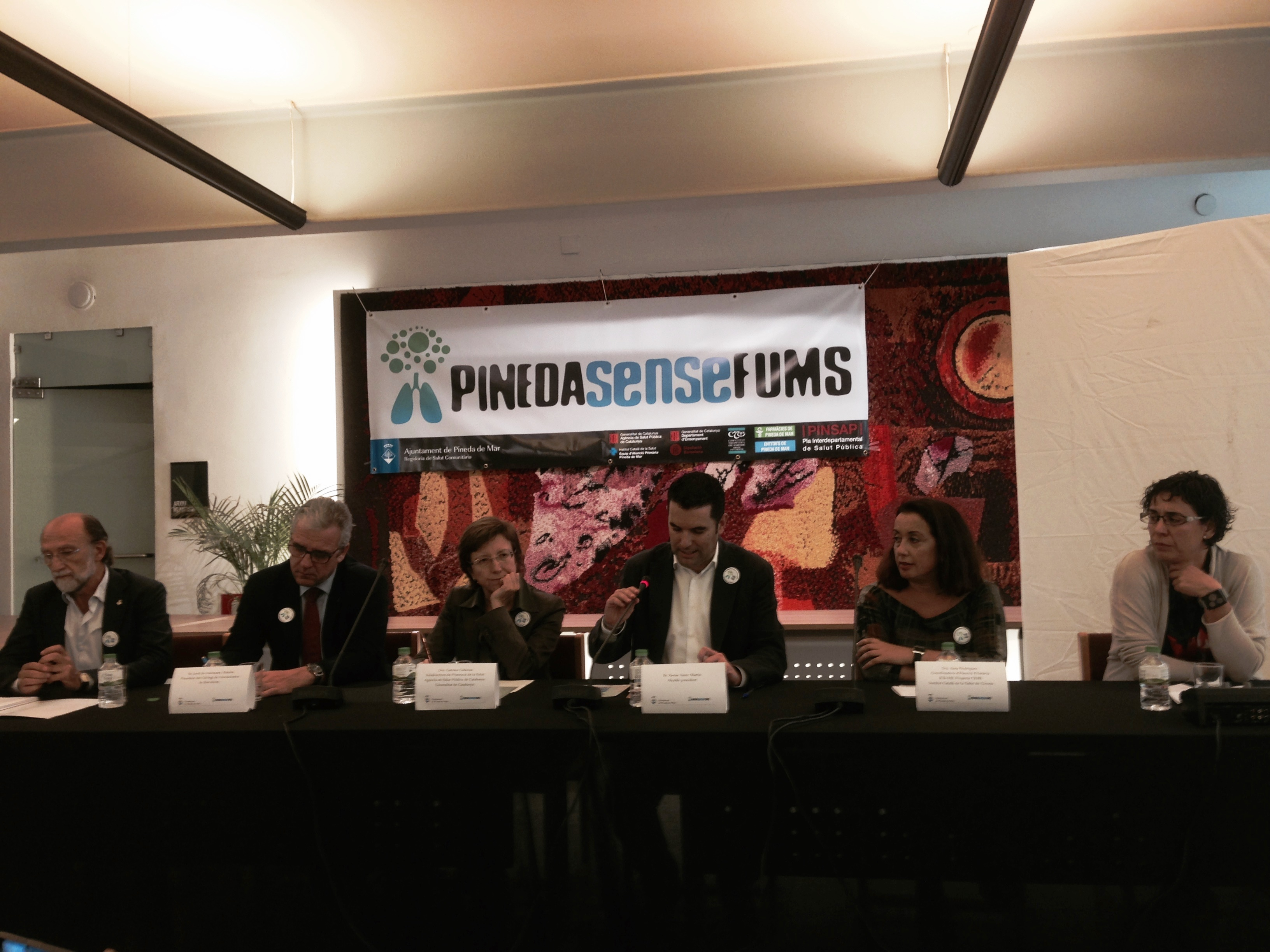 Presentació campanya Pinedasensefums