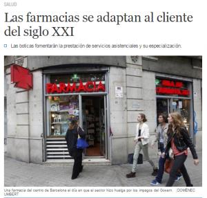 Las farmacias se adaptan al cliente del siglo XXI   Cataluña   EL MUNDO