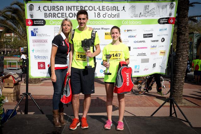 Erik Tuduri, guanyador de la categoria de juniors masculina