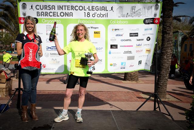 Aida Arnaiz, guanyadora en la categoria veterana femenina