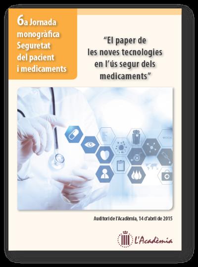 6a jornada Seguretat dels pacients i medicaments