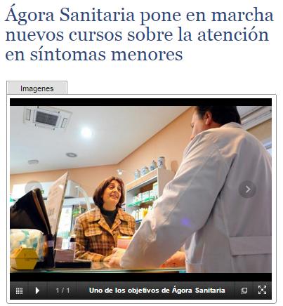Ágora Sanitaria pone en marcha nuevos cursos sobre la atención en síntomas menores    ElGlobalnet