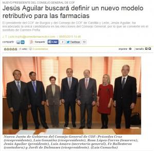 Jesús Aguilar buscará definir un nuevo modelo retributivo para las farmacias   correofarmacéutico