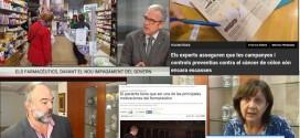 La denúncia del retard en el pagament, els serveis a les farmàcies i l'informe de la CNMC, entre molts altres temes recollits pels mitjans a l'octubre