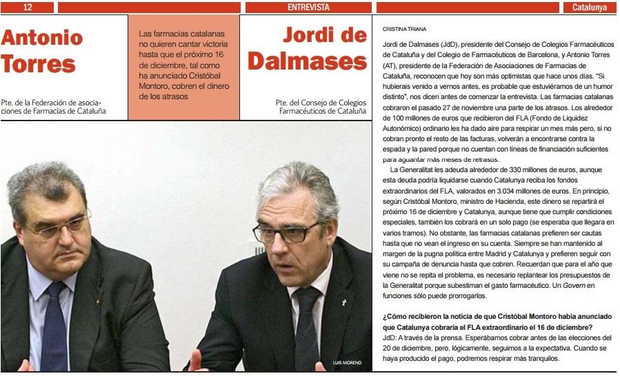 Impagaments- Entrevista JDALMASES El Economista