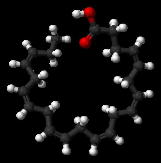 Docosahexaenoic-acid-3D-balls