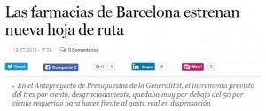L'article d'El Economista sobre la farmàcia catalana