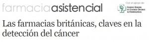L'article de Diariofarma que analitza les diferents activiatts que realitzen les farmàcies britàniques