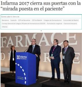 La clausura a Diariofarma