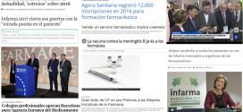 Infarma, Barcelona seu de l'EMA i Àgora Sanitària, temes destacats al març