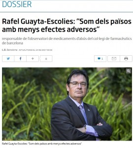 Entrevista de l'ARA a Rafael Guayta-Escolies