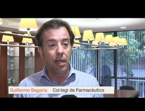 Guillermo Bagaria parlant a Betevé sobre