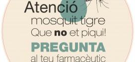 Campanya de prevenció contra el mosquit tigre a les farmàcies del Baix Llobregat