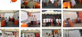 Èxit de participació de la carpa informativa de la campanya per la prevenció de patir un càncer de pell