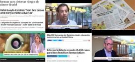 Campanya de prevenció del càncer pell, Infarma Solidari i Plenufar 6, temes més destacats al maig