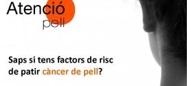 Saps si tens factors de risc de patir un càncer de pell? Participa a l'estudi DERMA-RISC