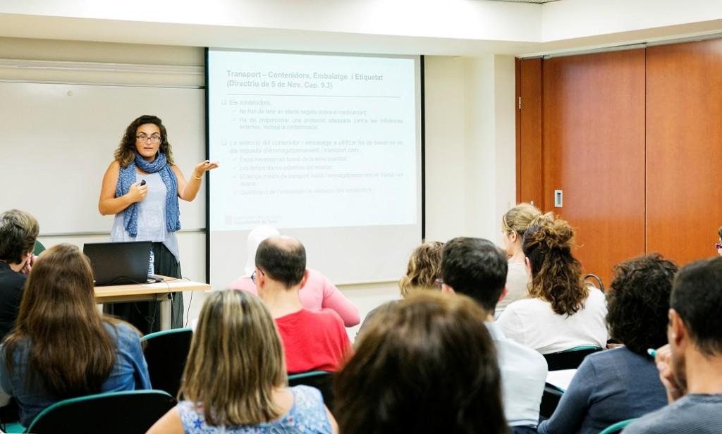 Primera sessió de la 4a edició dels Tallers de bones pràctiques de distribució de medicaments