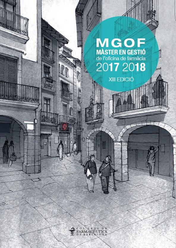 28 de setembre, sessió informativa de la XIII edició del Màster en Gestió de l'Oficina de Farmàcia (MGOF)
