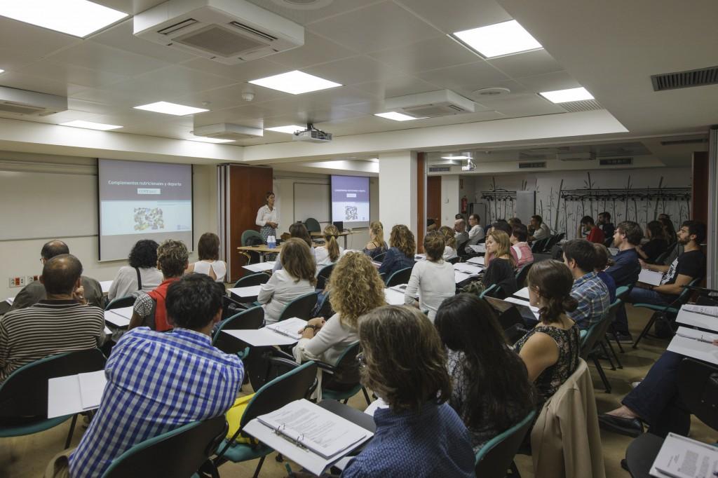 """Imatge d'una de les sessions del curs """"Nutrició i Esport""""."""