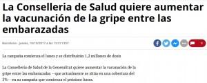 Notícia d'El Periódico explicant la campanya