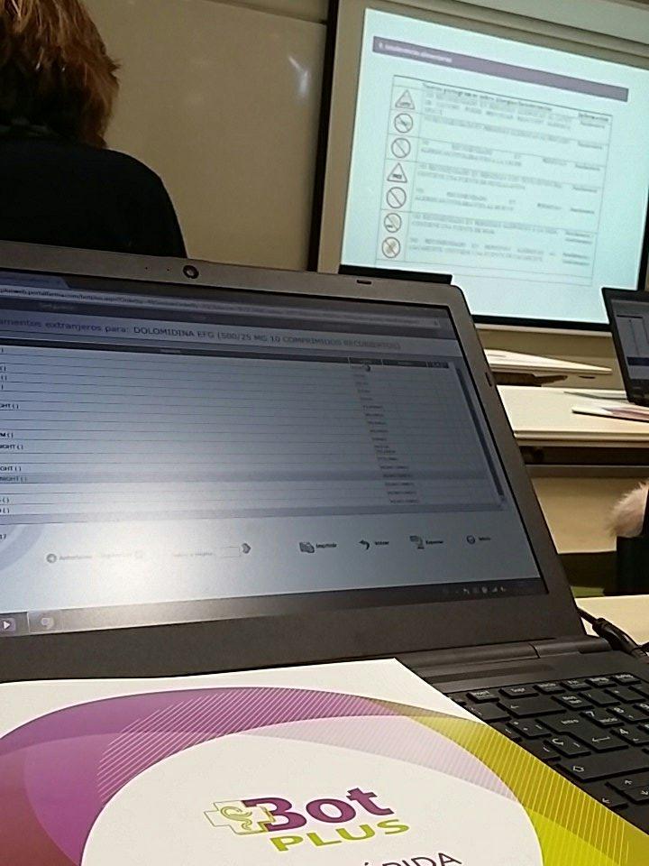 El taller pràctic de Bot PLUS va abordar les novetats 2016 - 2017 del contingut del programa.