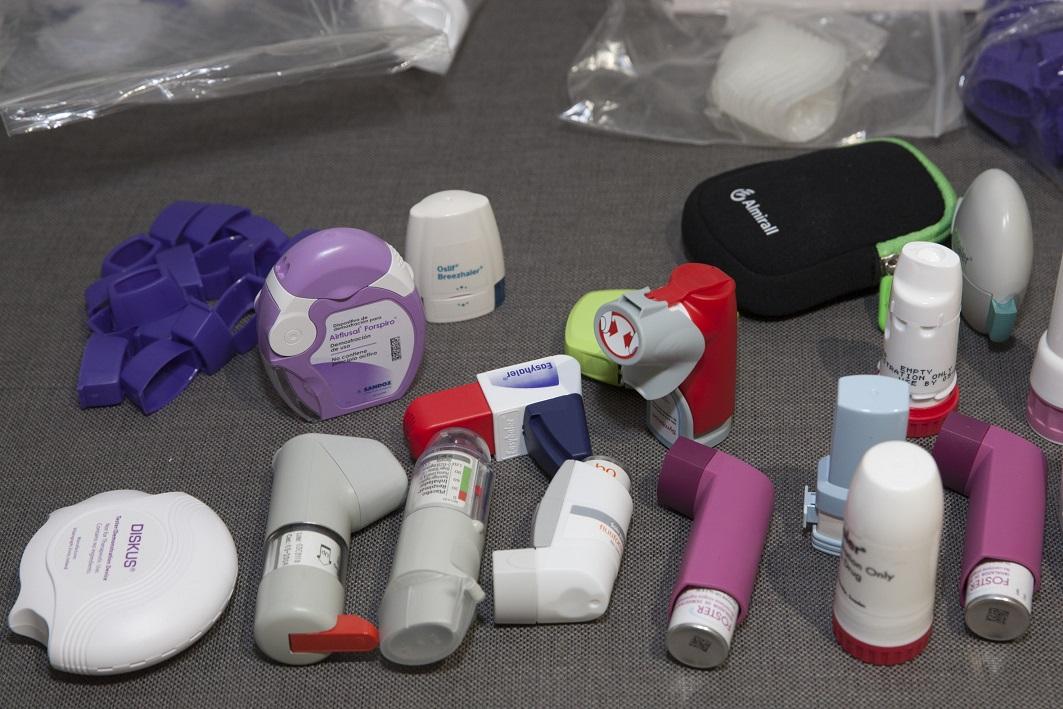 Alguns dels materials amb els quals van poder practicar els alumnes del taller.