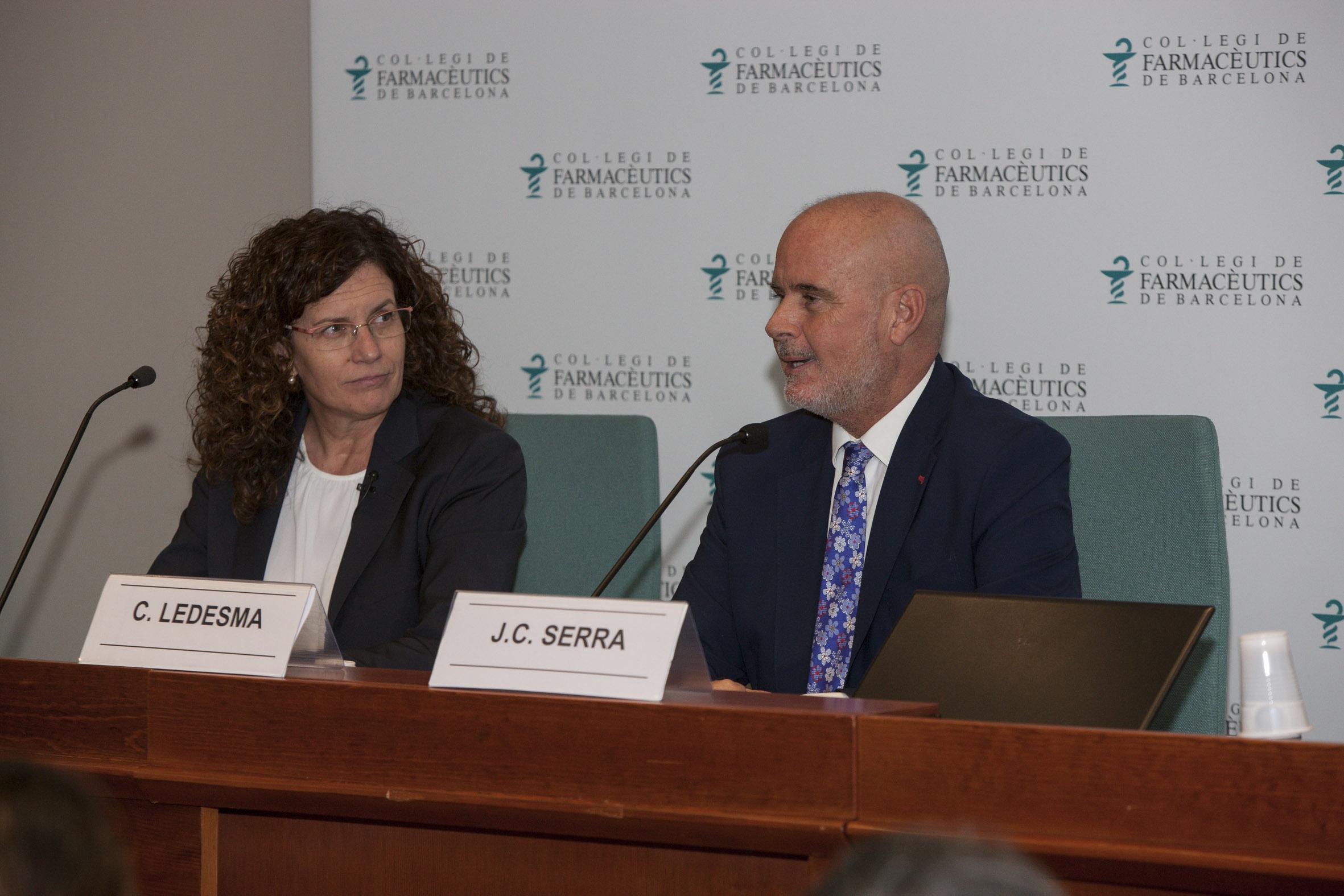 """Joan Carles Serra, director del MGOF, presentant la conferència de Carme Ledesma"""""""