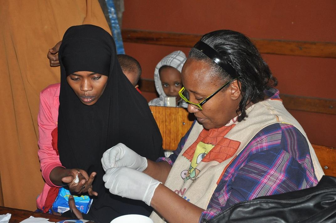 Atenció sanitària a Nairobi, Kènia. Font: Farmamundi.
