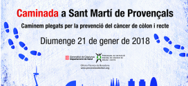 Tot a punt per a la caminada per la prevenció del càncer de còlon i recte el 21 de gener