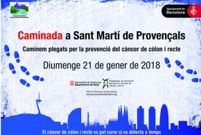 Tot a punt per a la caminada per la prevenció del càncer de còlon el 21 de gener