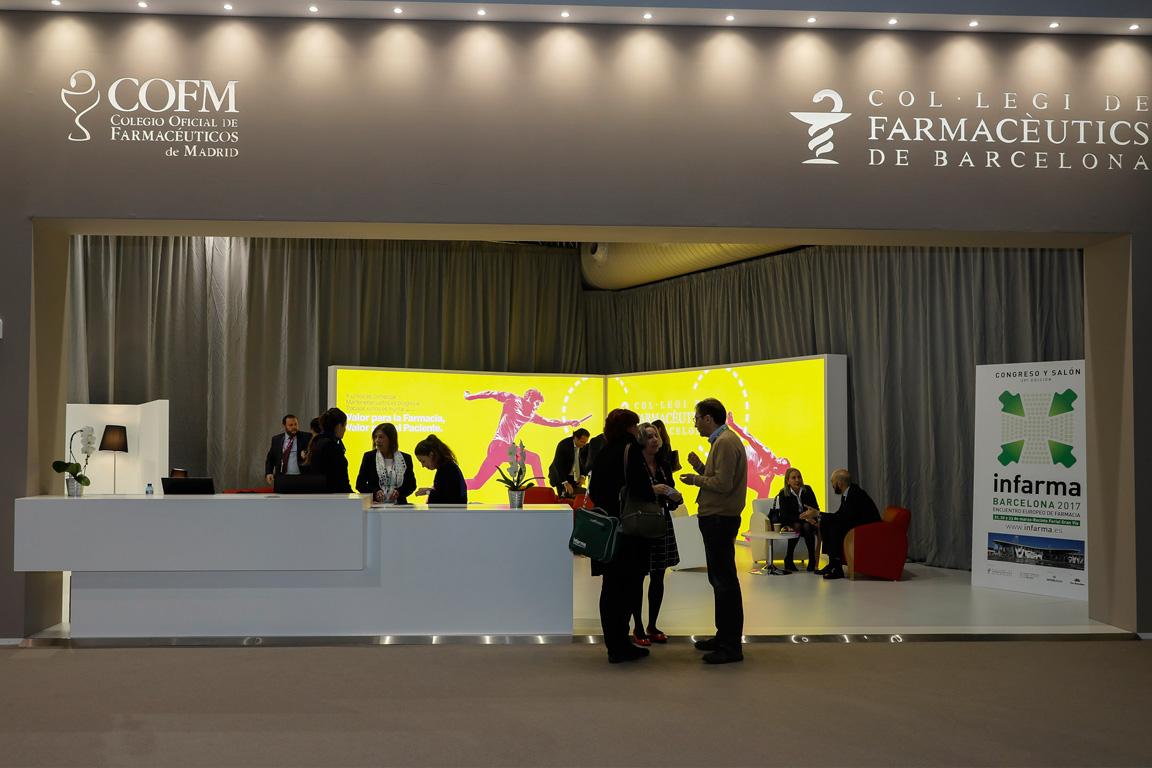 Imatge de l'anterior edició d'Infarma, celebrada a Barcelona.