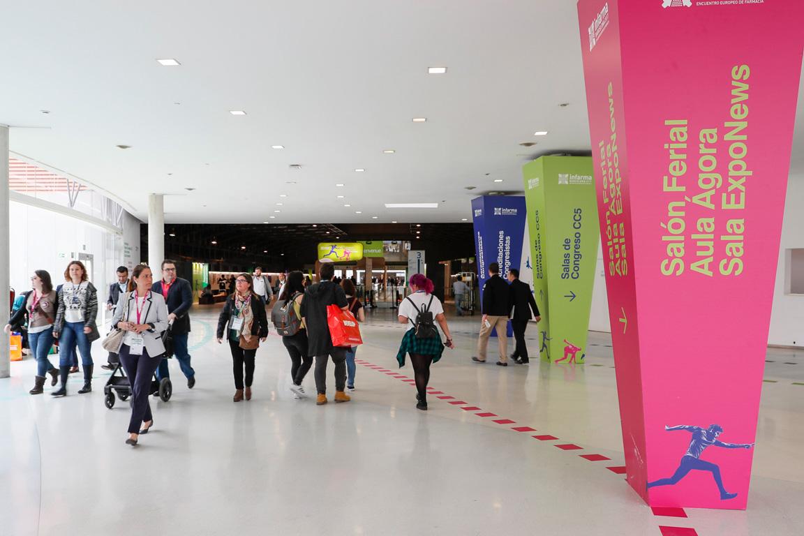 L'edició Infarma Barcelona 2016 va tancar amb bones xifres d'assistents.