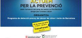 20 de març: Jornada per la prevenció del càncer de còlon i recte