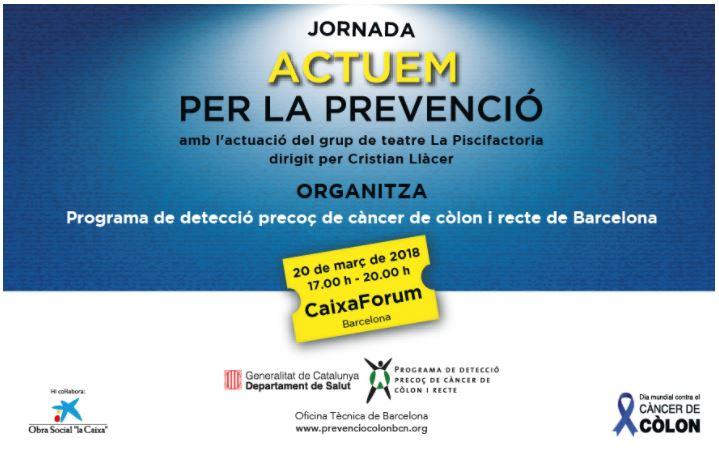 Actuem per la prevenció del càncer de còlon i recte