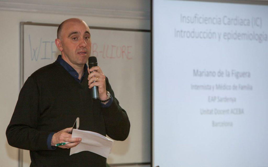 Antonio Sánchez Hidalgo, cap de Servei de Cardiologia al Consorci Sanitari de Terrassa, va introduir el curs com a coordinador del mateix