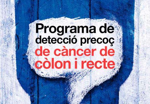 Programa de detecció precoç de càncer còlon i recte