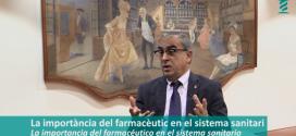 """""""El farmacèutic és un agent important del sistema sanitari en l'atenció a la cronicitat"""" [Entrevista al senador José Martínez Olmos]"""