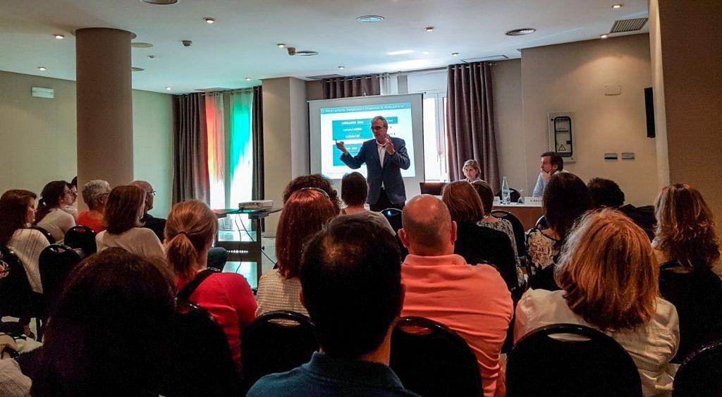 El president del COFB, Jordi de Dalmases, en un moment de la seva presentació a Mataró