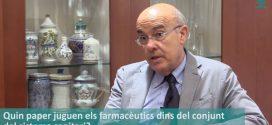 """Boi Ruiz: """"Hem d'integrar l'oficina de farmàcia com un element més de l'atenció primària"""" (Vídeo entrevista)"""