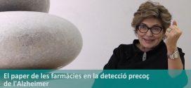 """Dra. Mercè Boada: """"Per millorar la detecció de l'Alzheimer, hem d'establir sinergies amb els agents més propers a la població, com farmàcies i farmacèutics"""" (vídeo entrevista)"""