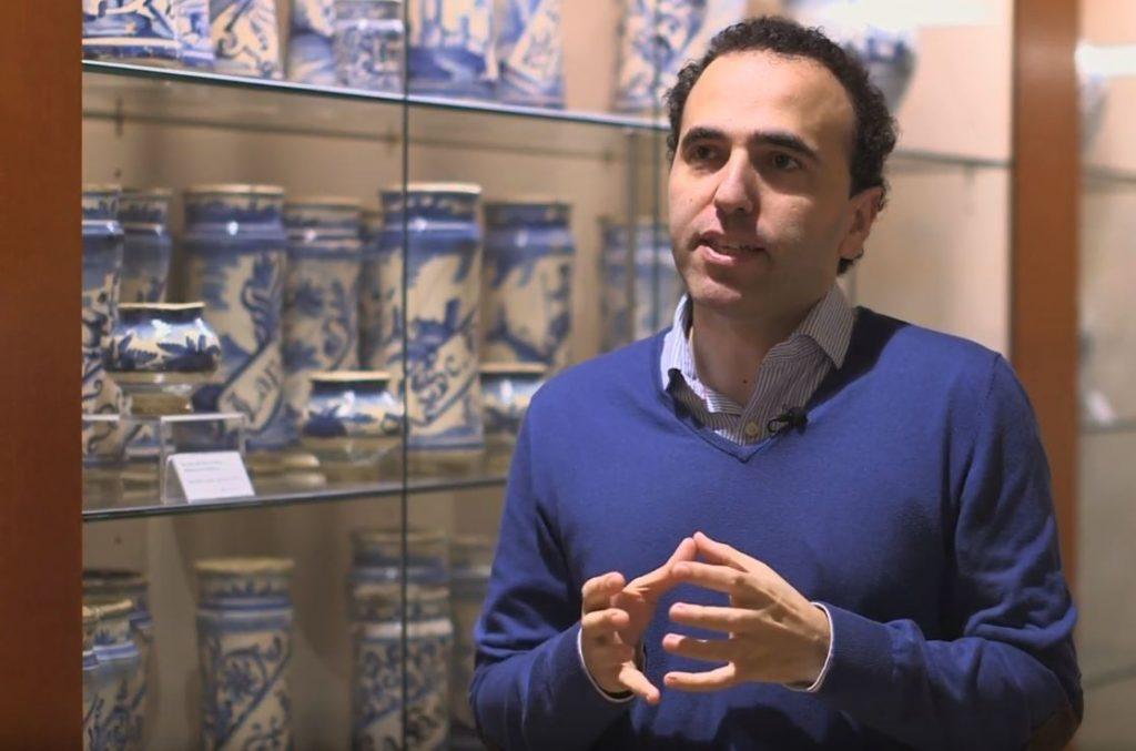 El secretari del COFB, Jordi Casas, al COFB.