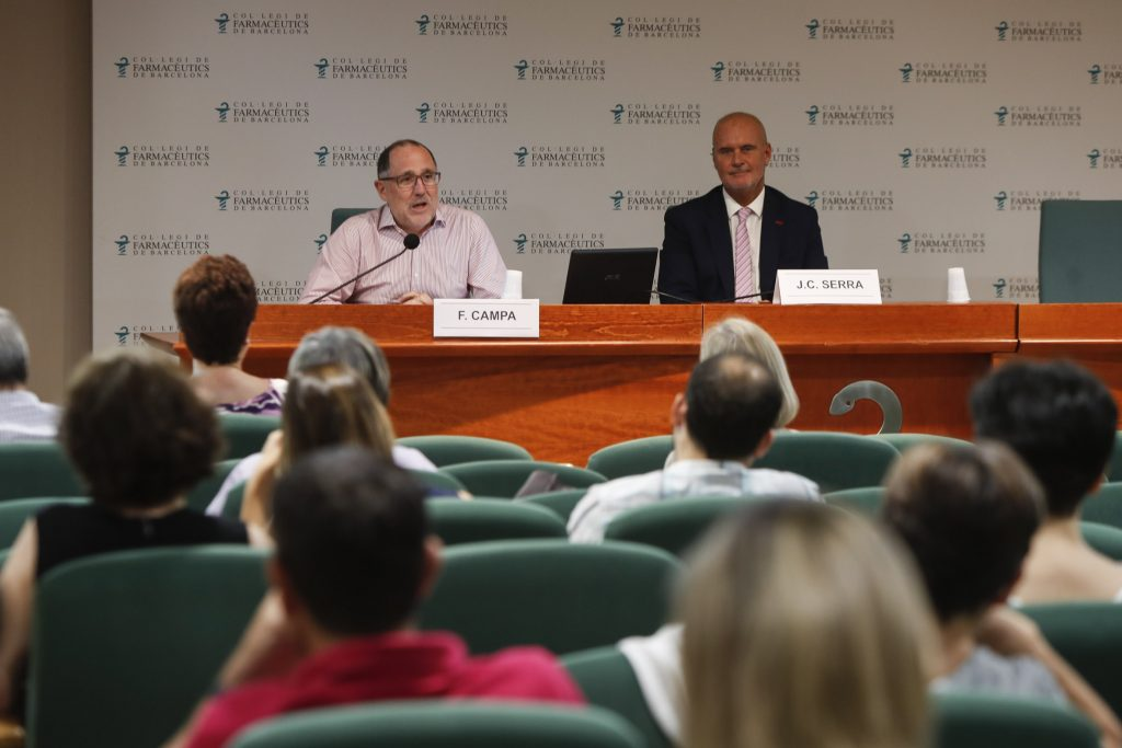 """Un moment de la sessió """"1 hora de finances amb Fernando Campa"""" al Fòrum MGOF."""