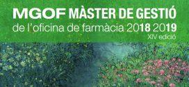 Sessió informativa de la 14a edició del Màster de Gestió de l'Oficina de Farmàcia (MGOF)