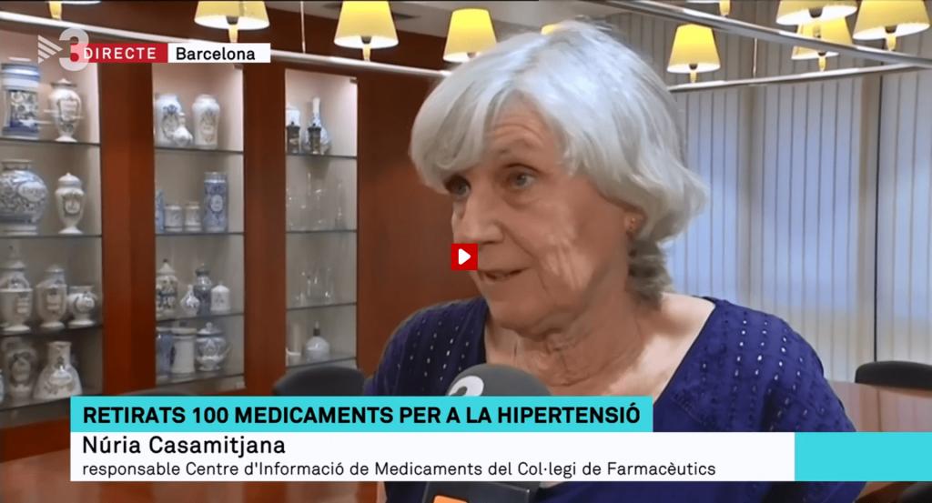 Núria Casamitjana a Els Matins de TV3.