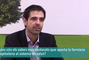 """Josep Maria Guiu: """"En l'àmbit internacional, el nivell de la farmàcia hospitalària al nostre país es considera molt elevat"""" (Vídeo entrevista)"""
