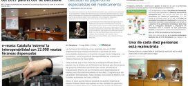 Agost i setembre: Memòria del COFB, monogràfic sobre farmàcia i Dia Mundial del Farmacèutic, temes destacats als mitjans